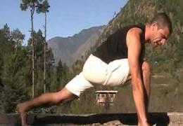 סרטון כושר עם תרגילים ותנוחות למתיחות שרירים ושיפור הגמישות
