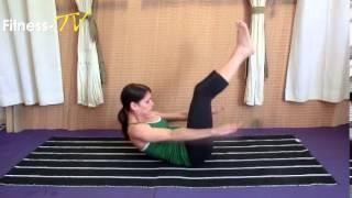 סרטון תרגיל פילאטיס לנשימה נכונה וחיזוק הבטן