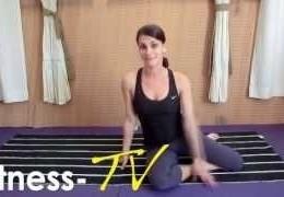 סרטון תרגיל פילאטיס לחיזוק שרירי הבטן האלכסוניים