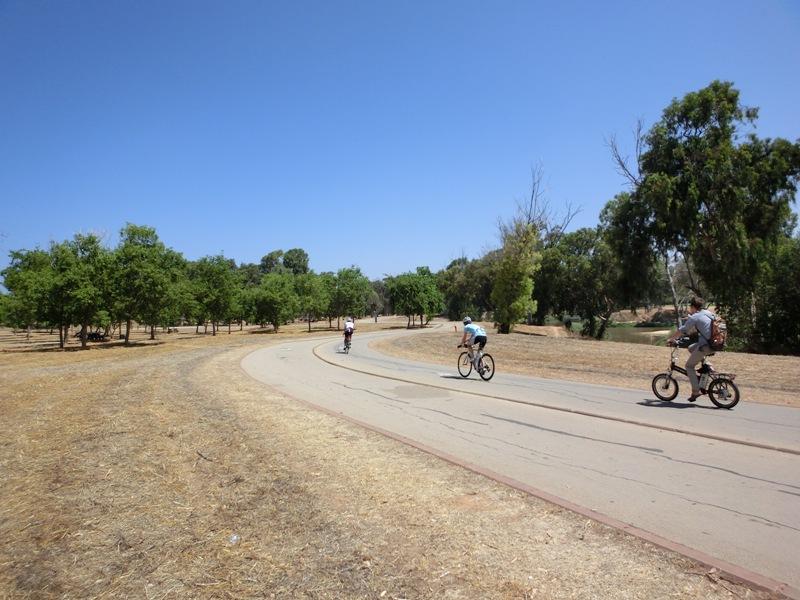 מסלול הריצה והאופניים ברמת גן ראש ציפור